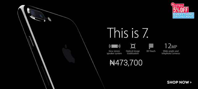 how much is iPhone 7 on Jumia