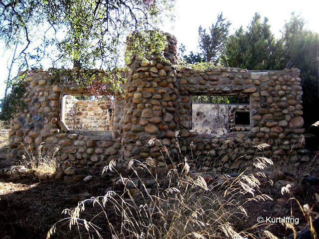 Beek's Place was a summer cabin built on the top of the divide between Corona and Silverado.