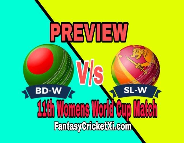 SL-W Vs BD-W 11th Match