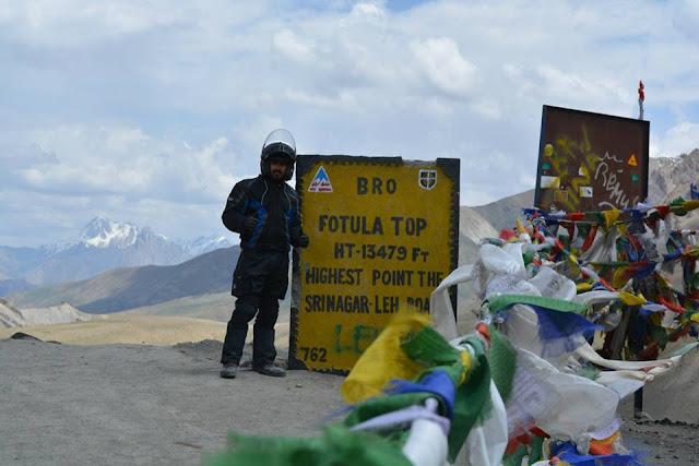 India the easy way Top%2Bof%2BFotula%2Bbetween%2BLeh%2Band%2BSrinagar