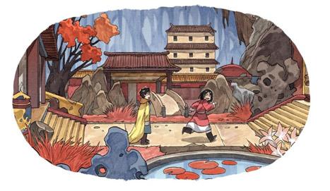 Kushi tome 3 - Kushi et Tilik à la découverte du palais sous-terrain