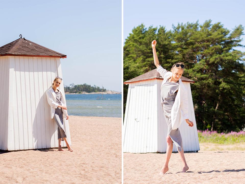fashion-blogger-outift-simple-minimal-scandinavian-style-summer-hanko-muotiblogi-bloggaaja-mekko-kesä-hanko