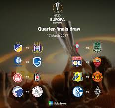 Europa League Round of 16 Draws Released