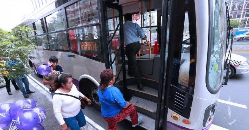 CORREDOR MORADO: Desde hoy usuarios pagarán pasajes con tarjeta, informó la Municipalidad Metropolitana de Lima
