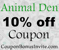 Animal Den Discount Code 2016-2017, Animal Den Promo Code November, December, January