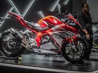 Harga, Spesifikasi dan Detil Design Motor Honda CBR 250 RR Terbaru 2017