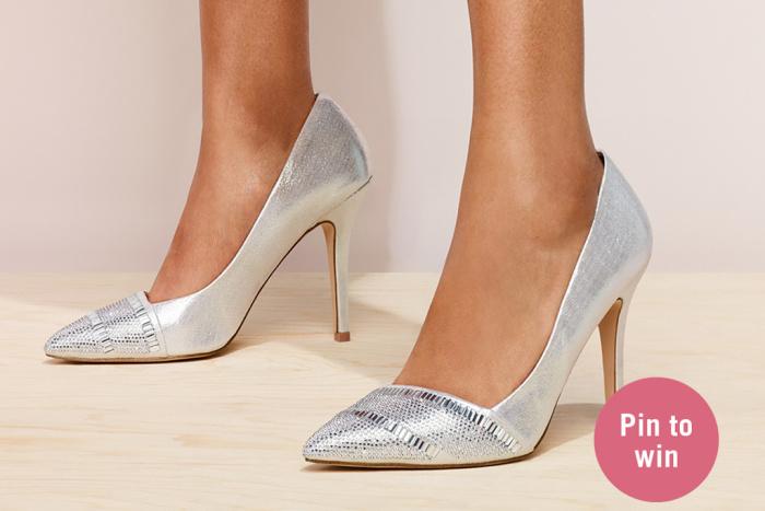 Aldo X Pinterest Bridal Shoe Contest Images