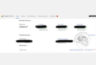 Lagi - lagi Iklan Google Adsense di blogg terkena BOM KLIK