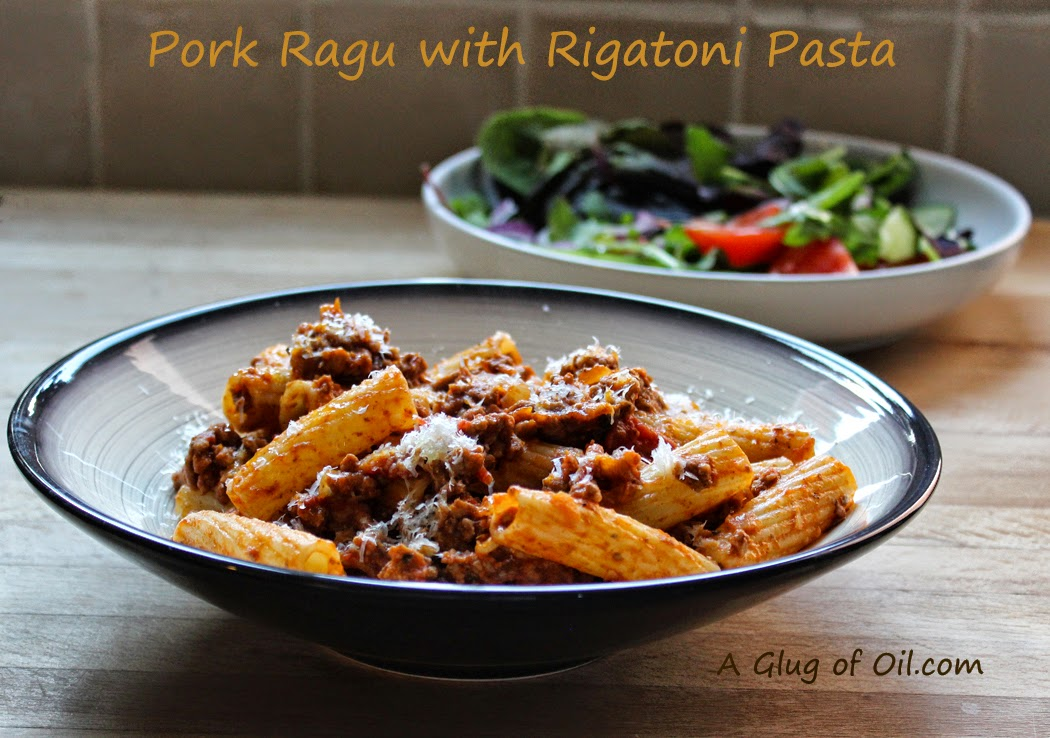 Bowl of Pork Ragu with Pasta