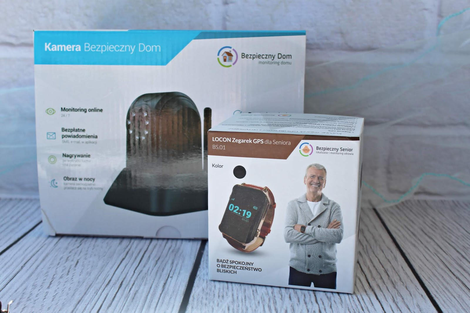 Lokalizator GPS dla seniora - Bezpieczny Senior + kamera do monitoringu domu