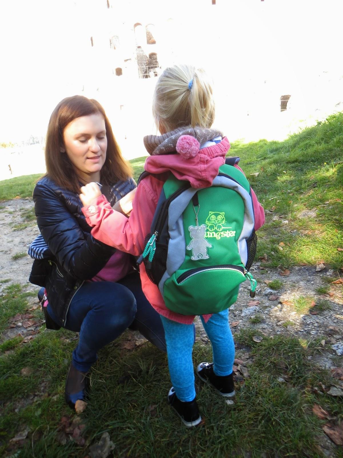 ace309fac1339 LITTLE Bit LIFE - Blog Rodzinny: Plecak turystyczny dla dzieci Marbo