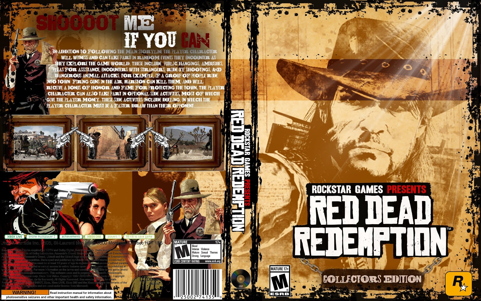 Capa Red Dead Redemption Collectors Edition PC