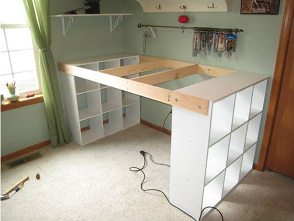 Home Decor Creative Ideas Diy Customized Craft Desk