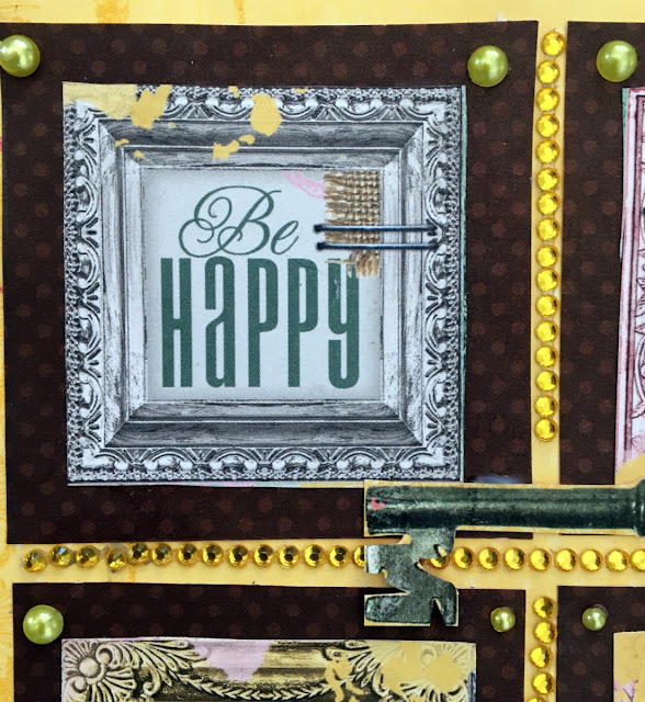 card by Solange Marques featuring BoBunny Sunshine Bliss collection