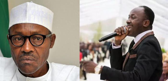 Buhari has turned into a prophet since we voted him - Apostle Suleiman