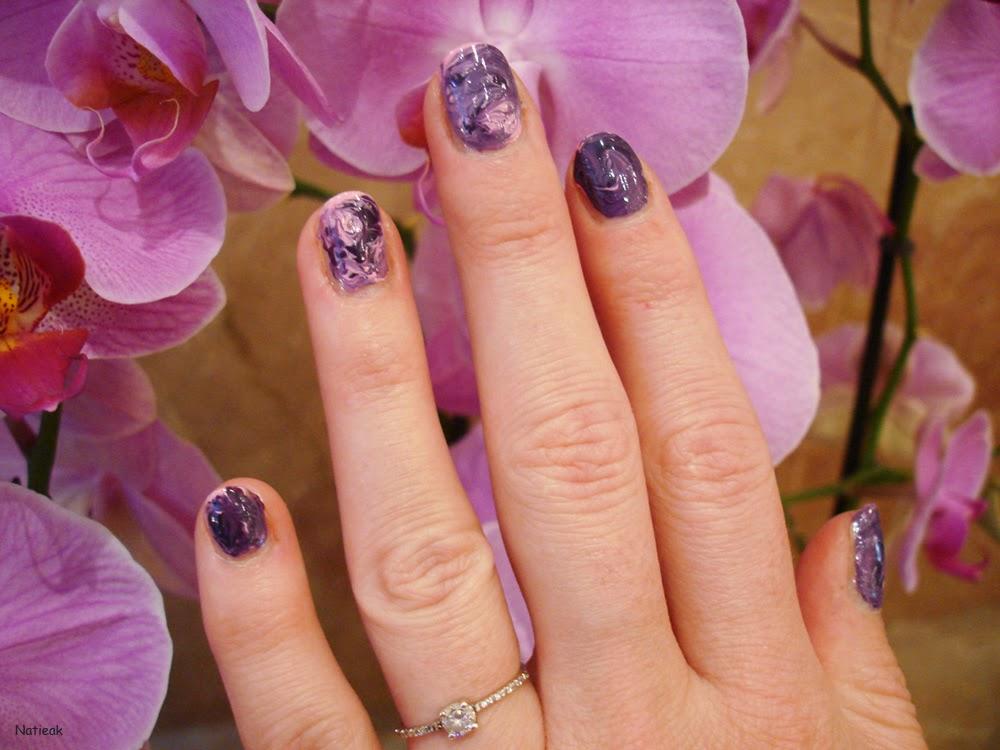 vernis à ongles prune électrique (numéro 60) de Couleur caramel