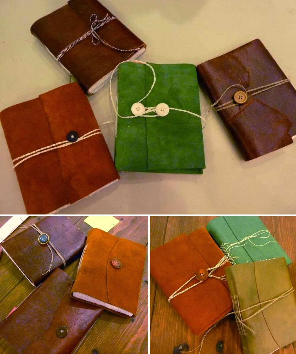 Bookbinding Blog: Leather Journal