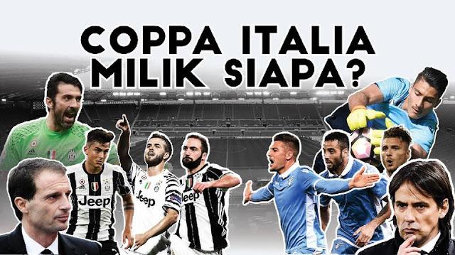 Juventus vs Lazio: Coppa Italia Milik Siapa?