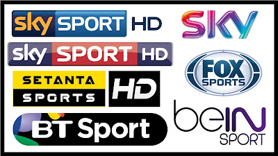 WORLD SPORT CHANNELS  ARENA / FOX / SKY / BT / DIGI SPORT 08.12.2016