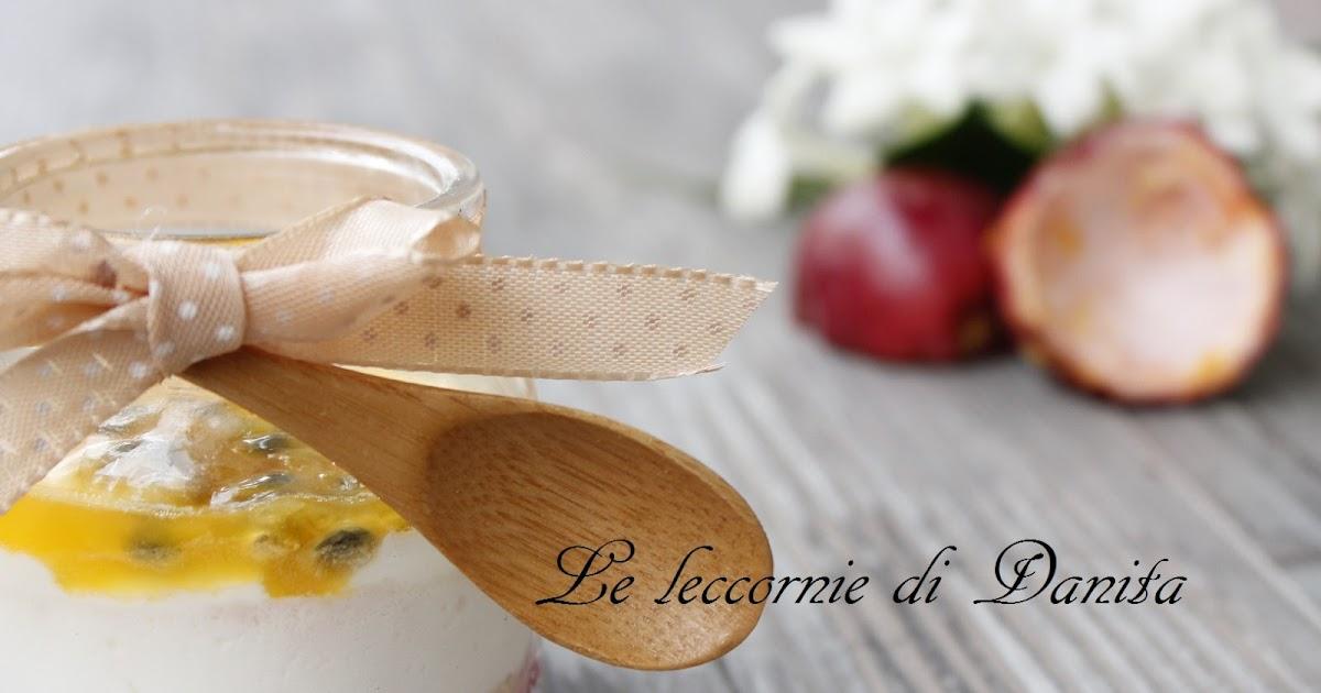 Cheese cake al cucchiaio, al frutto della passione per Bake off Italia