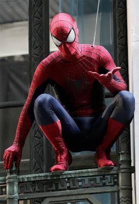 Primeira foto novo filme Homem Aranha 2014