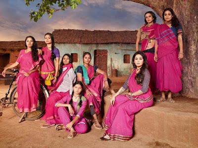 Las Gulabi Gang se han organizado para luchar contra la violencia y discriminación.