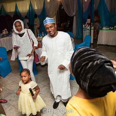 Photo of President Buhari's granddaughter at a family member's birthday celebration