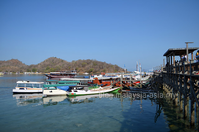Jetty at Labuan Bajo, Flores