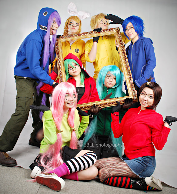 Vocaloid Matryoshka Cosplay