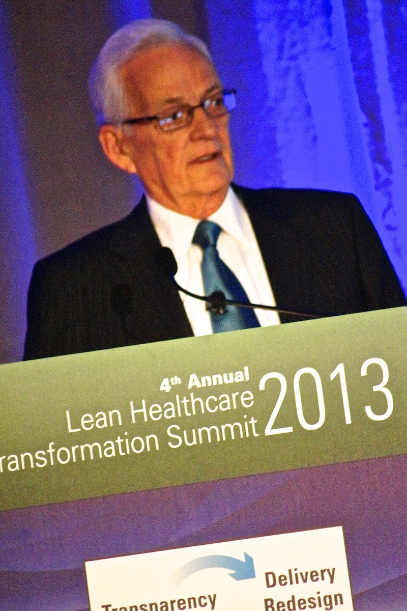 Notes from Paul O'Neill Speaking at the Lean Healthcare