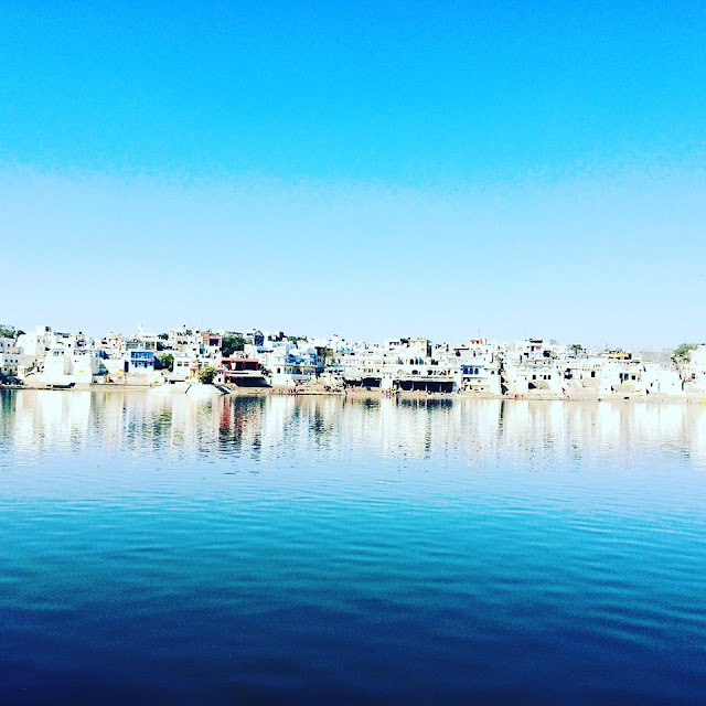 Beautiful water in Pushkar India