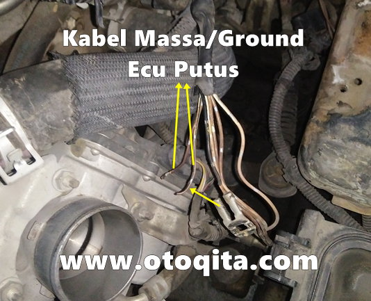 Kabel ground ecu vios limo 2007