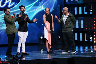 Sonakshi Sinha on Indian Idol to Promote movie Noor   IMG 1612.JPG