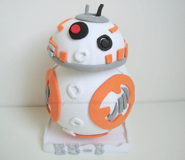Fofucho BB-8 de goma eva