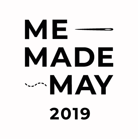 Logo for Me-Made May 2019
