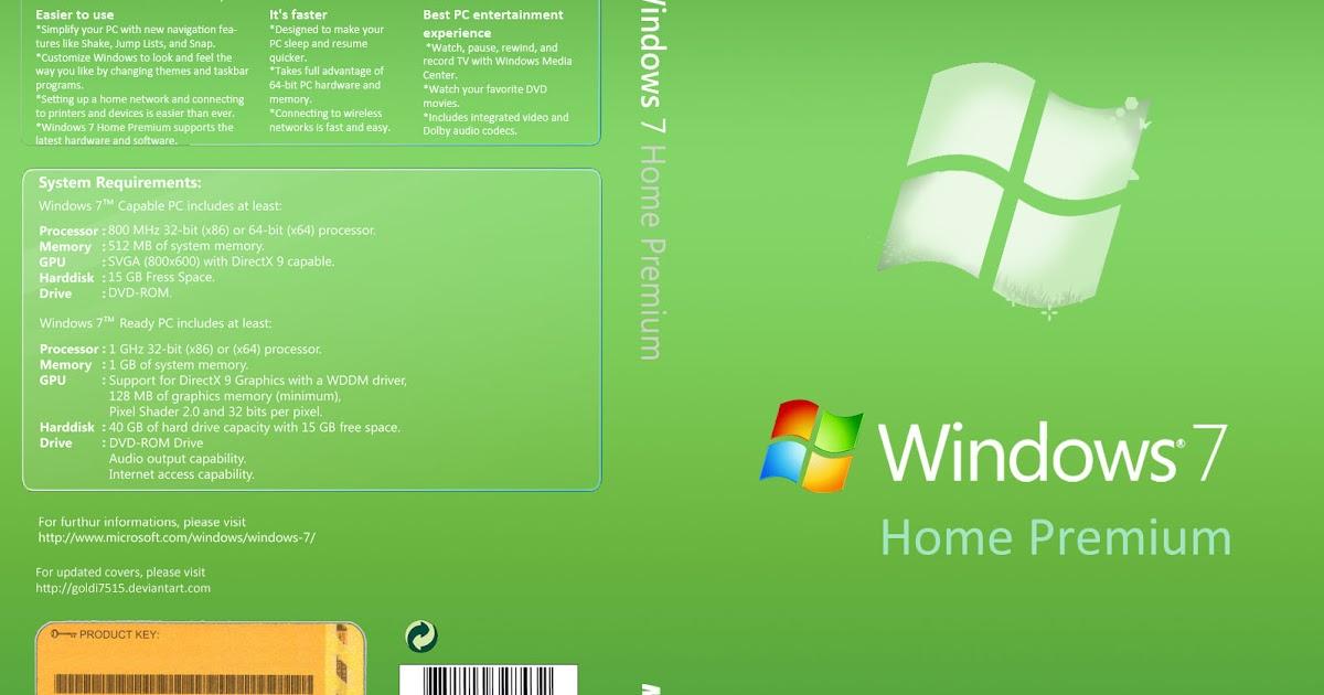 minimum system requirements for windows 7 home premium 32 bit