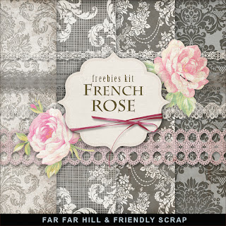 Freebies Kit - French Rose