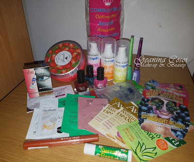 Sorteo ganado en el blog Hermanas de Hambre! cosmetica