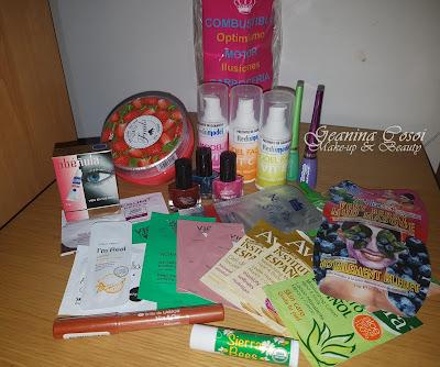 Sorteo ganado en el blog Hermanas de Hambre! cosmetica