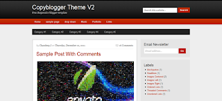 Copyblogger V2 Free Responsive Blogger Template