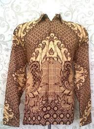 Baju Batik Pria Khas Solo Lengan Panjang