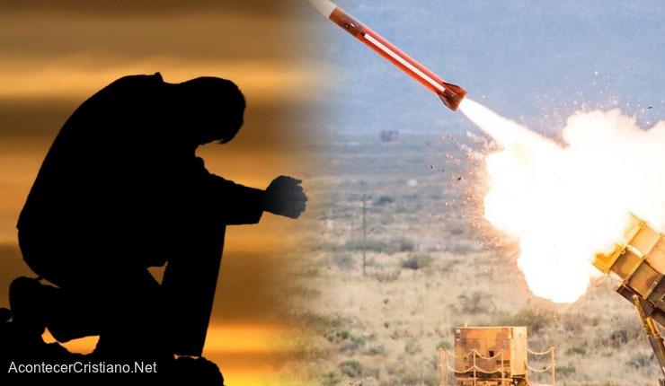 Oración ante ataque con cohetes contra Israel