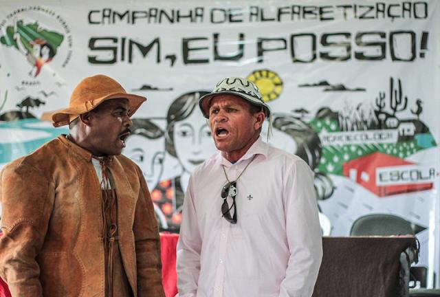 MST lança campanha de alfabetização nas cidades de Delmiro Gouveia, Olho D'Água do Casado e Piranhas