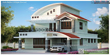Modern Beautiful Kerala Home Design House Plans