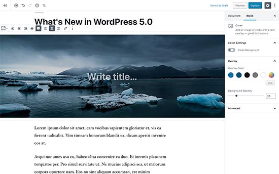 Memperkenalkan Gutenberg Editor Berbasis Blok Baru