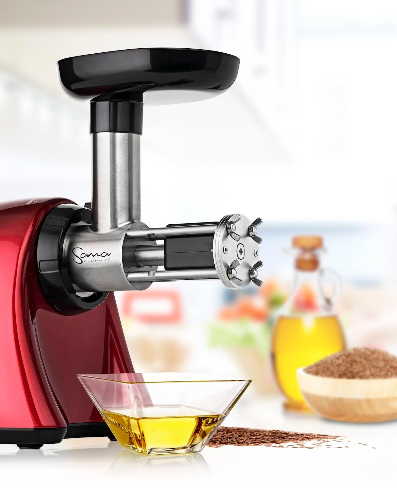 estrattore e pressa per semi: sana 707 - Olio Di Sesamo Per Cucinare