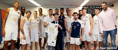 Rudy Fernández ,500 partidos con el Real Madrid