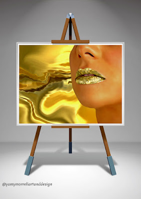 woman-lips-gold-texture-art-by-yamy-morrell
