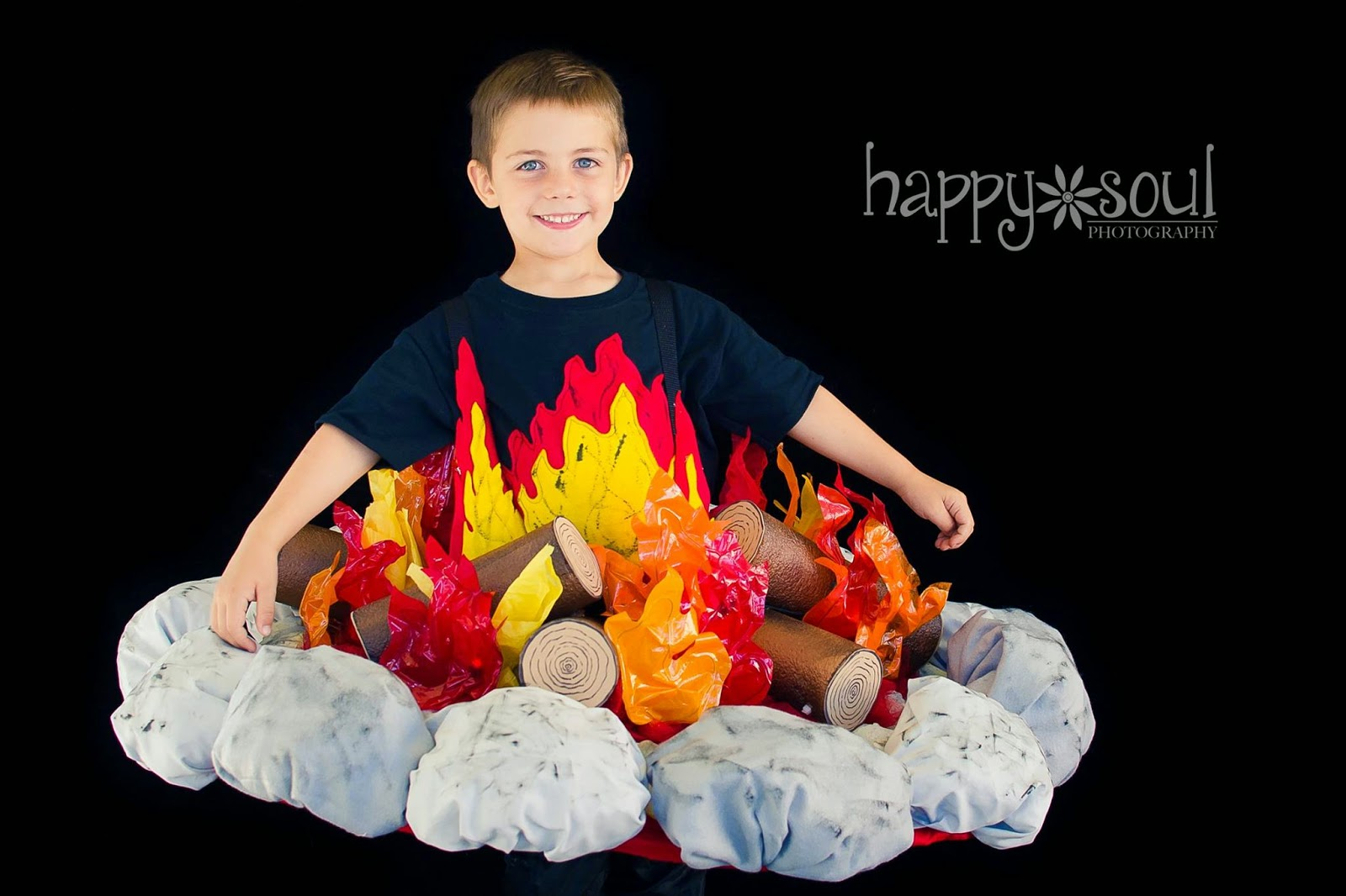 Campfire Costume Made By LearningAsISewBlogSpot