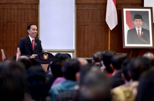 Silaturahmi dengan Pengurus PGI, Jokowi Sampaikan Optimisme Bangsa